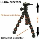 18cm Mini Kamera Stativ Tischstativ flexibel flexibles Dreibein Flexible Tripod