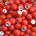 Raffle Ball Sets 1-100 101-200 1-200 201-300 301-400 401-500 Red Balls Cages