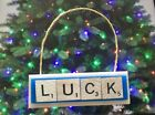 Andrew LUCK Indianapolis Colts Christmas Ornament Scrabble Tile Key Chain Magnet on eBay