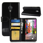 Luxury Leather TPU Wallet Card Slot  Case Cover For Alcatel 1C 3C 1X 3V U5 Stand