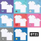 BT21 Official Authentic Goods T-Shirts 2ea BTS_Free standard shipping