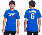Brian Dozier Los Angeles Dodgers #6 MLB Jersey Style Mens Graphic T on Ebay