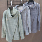 WOMEN'S DANSKIN FRENCH TERRY STYLE WRAP~3 COLORS~MANY SIZES~NWT~SHIPS FREE~