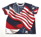 HUDSON USA FLAG TEE 5777-NAV NAVY (MSRP $59)