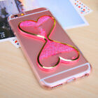 Dynamic Liquid Glitter Quicksand Clear Soft Case Cover For Iphone 8 7 6 Plus 5 4