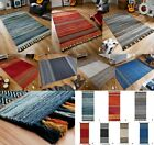 NEW HAND WOVEN KELIMS TRADITIONAL COTTON CHENILLE RUGS AND RUNNERS at LOW COST