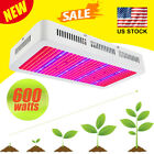 600W LED Grow Light Double Chips Full Spectrum With UV & IR for Greenhouse Plant