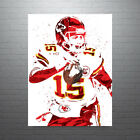 Pat Mahomes Kansas City Chiefs Poster FREE US SHIPPING on eBay