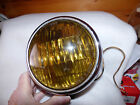 HARELY DAVIDSON AFTER MARKET FOG LAMP by B.L.C. YELLOW SEALED BEAMM  6 VOLT
