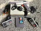NINTENDO NES Console System Bundle Games Super Mario 1 2 3 Duck Hunt New 72 Pin