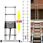 10.5FT 12.5FT 16.5FT Aluminum Multi-Purpose Telescopic Ladder Extension Foldable <br/> Free Delivery✔Lowest price-on sale✔