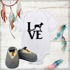 rapunzel outfit ideas - LOVE my Pitbull Outfit Onesies & Grey Bow Tie Shoes Unisex Baby Gift Ideas