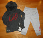 Nike Baby Boys Outfit Set Pants Hoodie Long Sleeve Shirt 12M 18M 24M Toddler NWT