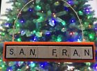 San Francisco Giants Christmas Ornament Scrabble Tiles Magnet Rear View Mirror on Ebay