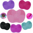 Makeup Brush Cleaner Silicone Mat Washing Cleaning Pad Scrubber Tools Gel Board
