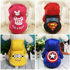 Внешний вид - Small Dog Cat Hoodie Sweater Superman Warm Pet Puppy Clothing Coat Chihuahua New