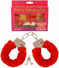 FURRY FLUFFY HANDCUFFS Fancy Dress Hen Night Stag Do Role Play Sex Aid Toy