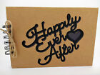 Happily Ever After Scrapbook, Photo Album, Memory Book, Cover A5 love Present