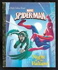 A Little Golden Book-The Amazing SPIDER-MAN, Night of the Vulture-2017-Like New