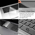 """High Quality Soft Clear Keyboard Cover For Macbook Pro Air 11"""" 12 13 14 15"""