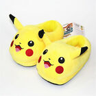 Pokemon Plush Slippers Warm Home Slipper Shoes Adult Size Cosplay Xmas Gift