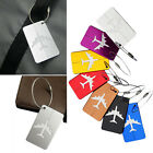 Kyпить Travel Aluminium Plane Luggage Tags Suitcase Label Name Address ID Baggage Tag на еВаy.соm