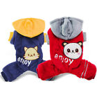 Внешний вид - Cute Warm Pet Cat Pajamas Dog Jumpsuit Clothing Winter Small Puppy Coat Apparel