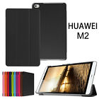 Smart Leather Flip For Huawei MediaPad M2 10.0 8.0 Tablet Case Cover Stand