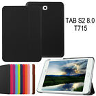 For Samsung Galaxy Tab S2 8.0 T715c T710 T713 Slim Leather Smart Case Cover