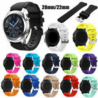 US Silicone Sport Strap Watch Band For Fossil Q Wander/Fossil Q Founder Gen 1/ 2