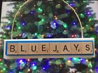 Toronto Blue Jays Christmas Ornament Scrabble Tiles Rear View Mirror Magnet on Ebay