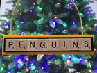 Pittsburgh Penguins Christmas Ornament Scrabble Tiles Rear View Mirror Magnet $8.99 USD on eBay