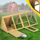 "36""40""83""Wooden Chicken Coop Rabbit House Poultry Habitat Pet Supplies Backyard"