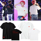 Kpop BTS LOVE YOURSELF World Tour T-Shirt JIMIN V Cotton Tshirt Unisex Tee ZD501 image