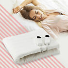 Electric Heated Mattress Pad Safe Twin/ Full/ Queen 5 Temperature Modes 8H Timer image
