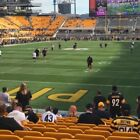 PITTSBURGH STEELERS VS LOS ANGELES CHARGERS -STEELERS SIDE -SEC 124 ROW O - $475 $475.0 USD on eBay