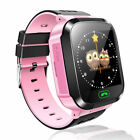 Smart Watch Bluetooth LBS GSM Locator Tracker SOS Anruf Taschenlampe Kinder