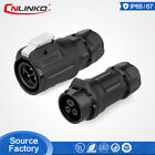 Factory Price M16 Waterproof IP67 Power Connector 3Pin Male Female Mating Plug