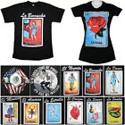 Loteria T Shirt Mexico Mexican Flag El Borracho Funny Women Men Graphic Tee image