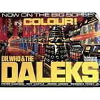Wall Decal entitled Dr. Who and the Daleks - Vintage Movie Poster