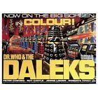 Poster Print Wall Art entitled Dr. Who and the Daleks - Vintage Movie Poster