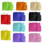 COLOURED TWISTED HANDLE KRAFT PAPER CARRIER BAGS
