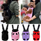 Pet Dog Carrier Bag Shoulder/Sling/Net Backpack Leg Out Front/Back Puppy Pouch H