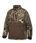 Drake Waterfowl Heavyweight LST Eqwader Full Zip Jacket Realtree Max 5 DW-4350Coats & Jackets - 177868