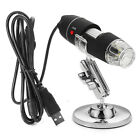 1000X/1600X 8 LED USB Zoom Digital Microscope Hand Held Biological Endoscope US