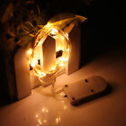 2M 20 LED Battery Operated Silver Wire String Fairy Lights Wedding Xmas Decor