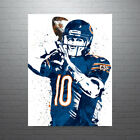Mitchell Trubisky Chicago Bears Poster FREE US SHIPPING $25.0 USD on eBay