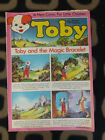 VINTAGE TOBY THE DOG CHILDRENS COMIC MAGAZINE. MARCH 13, 1976