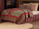 GATLINBURG Lodge Patchwork Bedding - Choose Quilt & Accessories - VHC Brands image