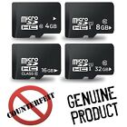 Genuine 4GB 8GB 16GB 32GB Micro SD SDHC UHS I Class 4 10 Memory Card + Adapter